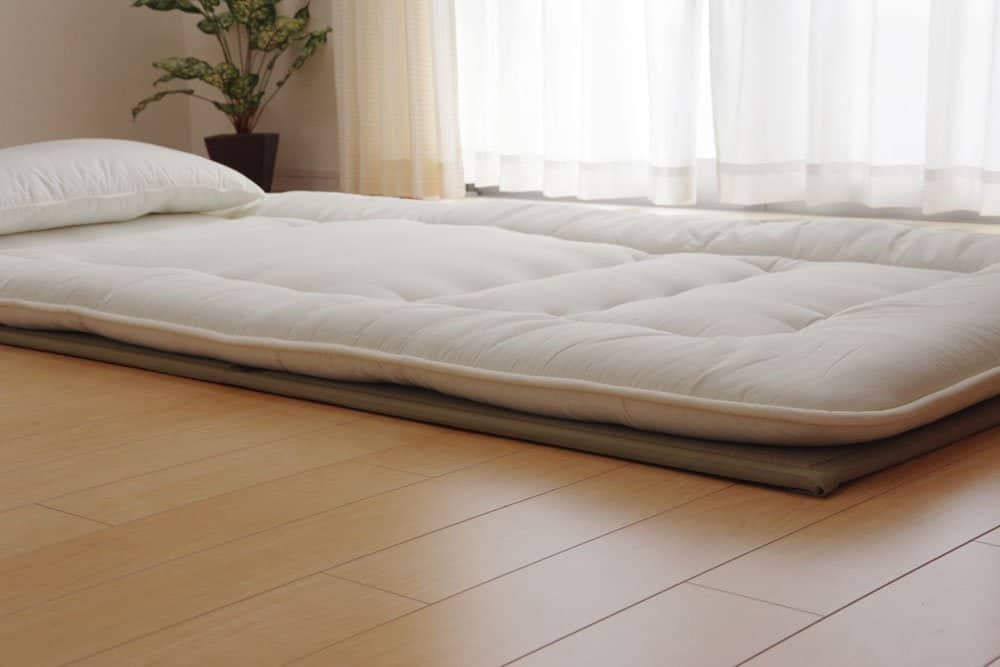 Futon with Two Layers